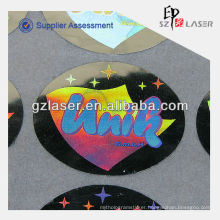 New arrival high quality holographic bike sticker