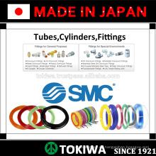 Tubo certificado ISO, cilindro, accesorios para una vida de servicio más larga por SMC & CKD. Fabricado en Japón (regulador de presión de aire smc)