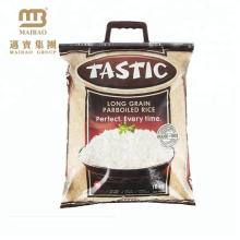 1kg, 2 kg, 5 kg, 10 kg Sac à vide pour le riz Emballage / Thaïlande Basmati Sacs de riz en plastique avec poignée