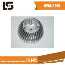 La disipación de aluminio industrial del disipador de calor diseña el disipador de calor a presión la fabricación de la fundición