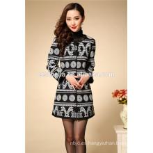 Mujeres abrigo de invierno de algodón, las mujeres abrigo largo otoño y el invierno de las señoras al por mayor abrigo de moda