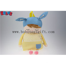 """19.6 """"Long Orelhas Amarelo Rabbit Plush Mochila para Crianças em Alunos Jardim de Infância Bos-1227 / 50cm"""