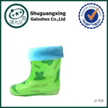 boys rain boots frog C-705
