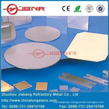 Wolfram Copper Disc W85cu15 with ISO 9001 From Zhuzhou Jiabang