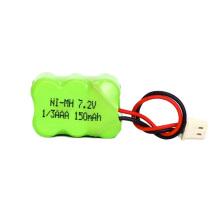 Batería recargable de 7.2v ni-mh Batería AAA 150mah