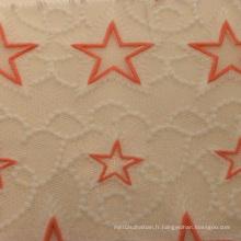 Tissu décoratif en mousse de mode 2016