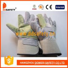 Doublure caoutchoutée doublée de revers en coton blanc doublure gant-Dlc322