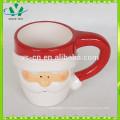 YScc0028-1 China Promocional de cerámica por mayor Santa Claus Cup