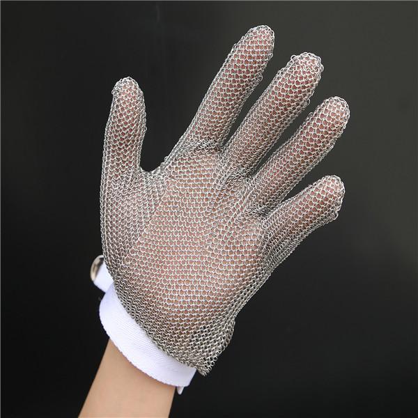 stainless steel metal mesh gloves 2
