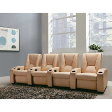 Home Theater Electric Type Leather Recliner Sofa (G005)