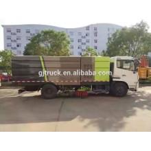 4x2 Dongfeng mano derecha unidad barrendero camión / calle barrido camión / barredora de carreteras para el barrido de carreteras
