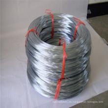 Alambre de hierro galvanizado DIP caliente 25kg / bobina