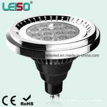 12.5W 1000lm LED AR111 que substituyen la lámpara del halógeno 100W directamente (LS-S012-GU10-LWW / LW)