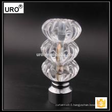 URO new design swivel curtain rod