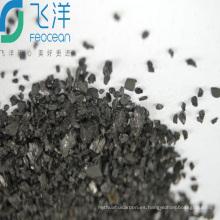 El carbón activado a base de madera de grado alimenticio utilizado en la industria farmacéutica y de bebidas es el mejor agente químico de decoloración