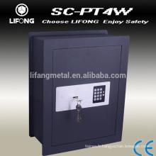 Flat surface hidden wall safe box