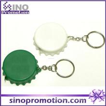 Kundenspezifische Art und Weise mini nettes Stahl, das Band mit Keychain misst