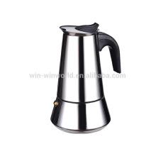 Alta calidad que cocina el acero inoxidable Stovetop Moka Pot Espresso Coffee Maker