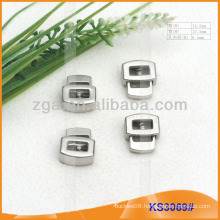 Metal cord stopper or toggle for garments,handbags and shoes KS3069#