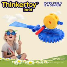 Дешевые Открытый конец строительства игрушка для малышей