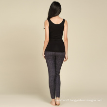 new fashion anti-pilling computer knitted well design pant trouser
