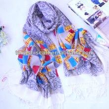 acrylic shawl high quality scarf