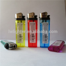Chinese Cheap Disposable Gas Flint Lighter With OEM PVC