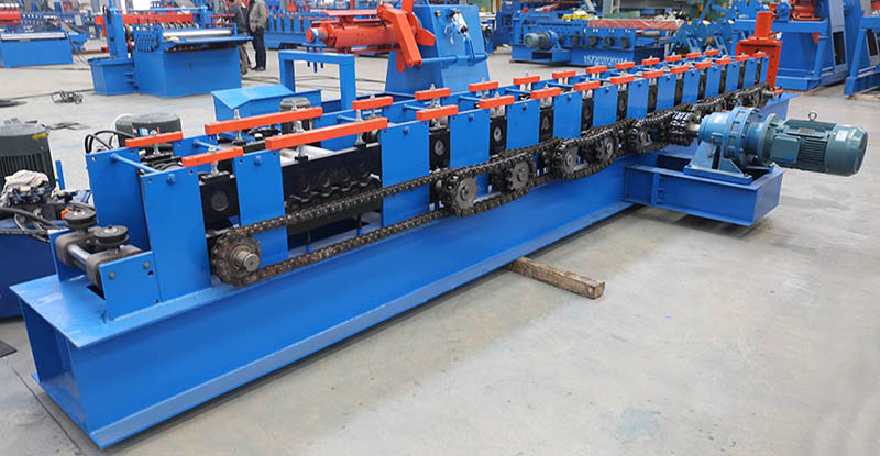 angle bar machine