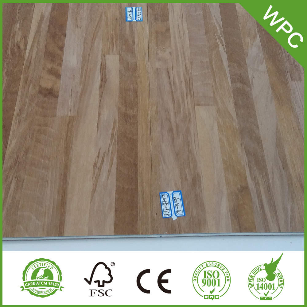 7mm Click WPC Vinyl Flooring China Manufacturer