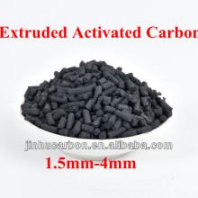Carbone activé extrudé