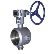 Butt Weld Type Metallic Hard Sealing Butterfly Valve (DT363)