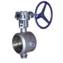 Válvula Borboleta Metálica de Vedação Dura Tipo Válvula (DT363)