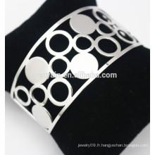 Ensemble de bracelet en forme de crochet creux