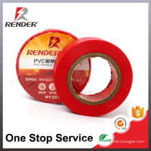 Guangzhou Supplies PVC Industrial Adhesive tape Red Tape Adhesive
