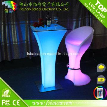 Table haute LED / Table pliante LED / Table LED