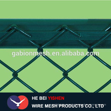Used high quality galvanized chain link fence panel