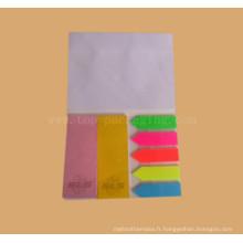 Zyvox Cute Memo Pad Bloc-notes / Étiquette de papier pour le signet