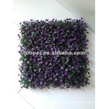 Césped artificial para la decoración del hogar, plástico seto