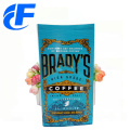 Wholesale coffee packaging bags with clear window