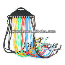 cables de accesorios de anteojos de colores