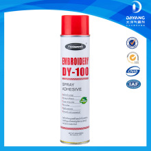 Embroidery Spray Aerosol Adhesive Non Woven Fabric For Clothing
