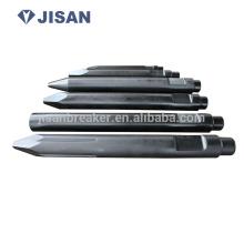 Hydraulische Gesteinsbrecher Meißel Werkzeug, Hydraulikhammer Ersatzteile, hydraulische Brecher Werkzeuge hydraulische Gesteinsbrecher Meißel Werkzeug
