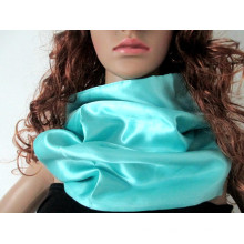 2015 novo seda cachecol cor sólida