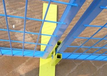 light green fencing foot
