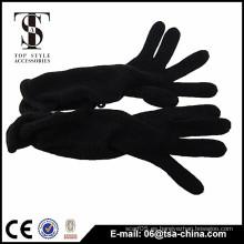Cliente nuevo diseño mujeres invierno largo arcylic guantes
