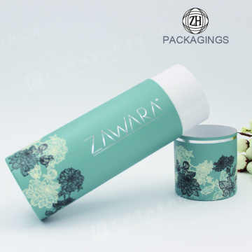 Custom+Cardboard+Tube+Packaging+with+Foil+Stamping