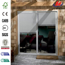 Inswing Mini Blind Patio Door