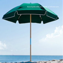 Green Color Beach Umbrella Sun Screen Umbrella