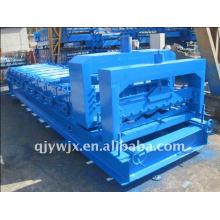 QJ popular cnc 1100 vitrificada máquina de dobrar folhas de metal China
