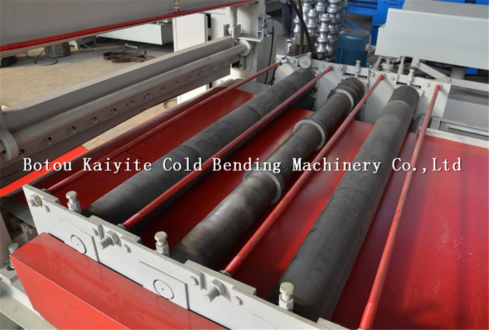 leveing and slitting machine